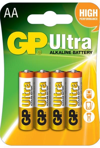 Gp 15Au-2U4 Lr6 Ultra Alkalin Kalem Pil 4K