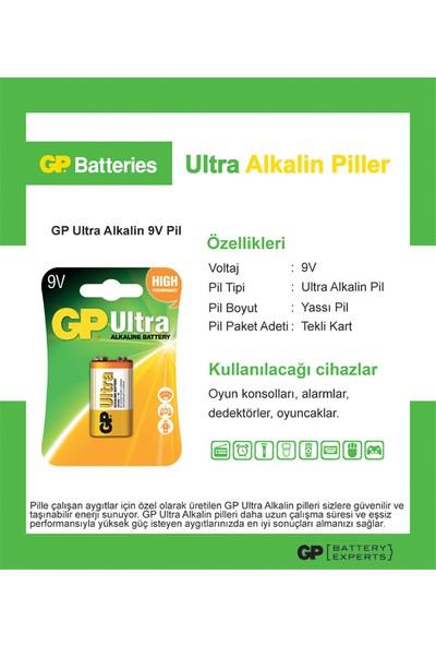 Gp 1604Au 9V Ultra Alkalin Pil Tekli 1K
