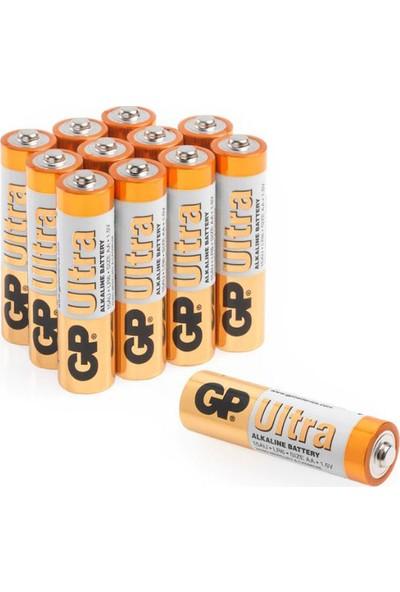 GP Ultra Alkalin 12'li AA Boy Kalem Pil (GP15AU-VS12)