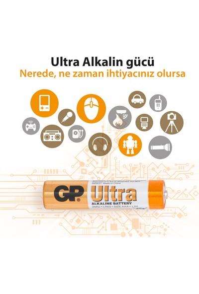 GP Ultra Alkalin 12'li AAA Boy İnce Pil (GP24AU-VS12)