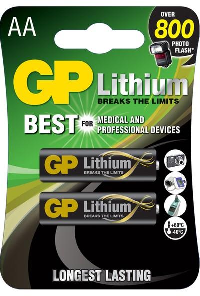 GP 2'li Lityum AA Kalem Pil (GP15LF-2U2)