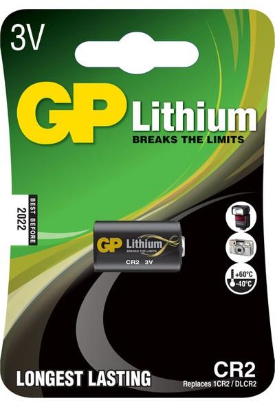 GP Tekli CR2 3V Lityum Pil (GPCR2-U1)