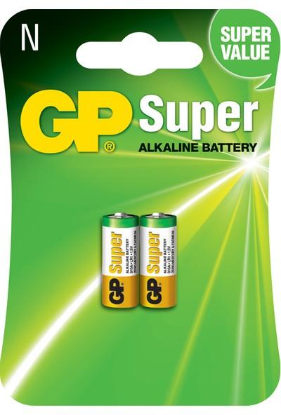 GP 2'li 910A LR1 Alkalin Kısa - Yarım Kalem Pil (GP910A-U2)