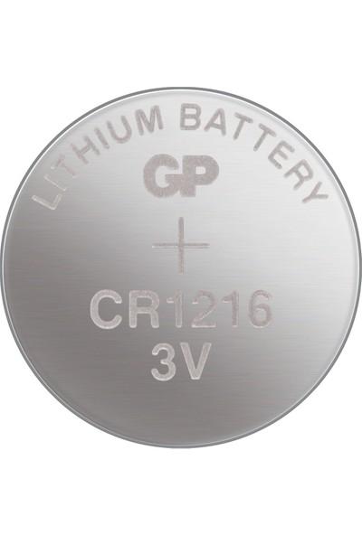 GP 5'li CR1216 3V Lityum Düğme Pil (GPCR1216-C5)