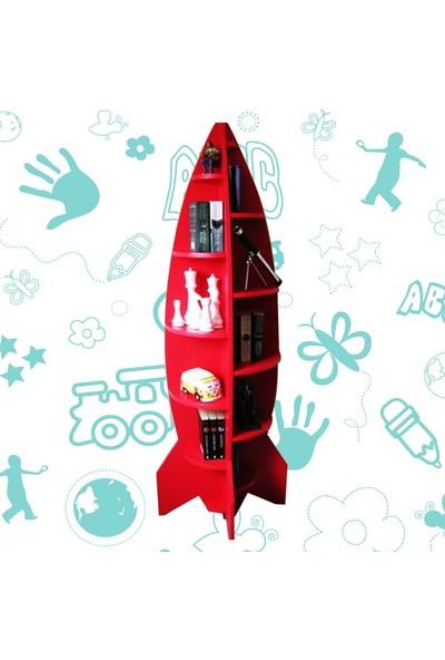 Ahchap Ahşap Roket Tasarımlı Raf