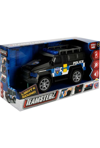 Teamsterz Sesli ve Işıklı Polis Arabası 24 cm