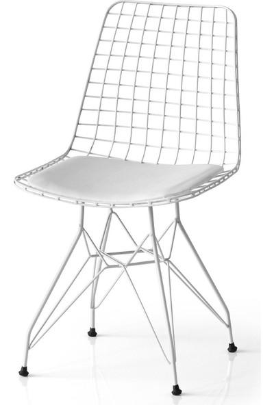 Grande Tel Mutfak Sandalyesi
