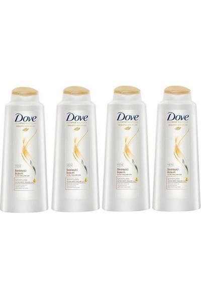 Dove Şampuan Besleyici Bakım 550 ml 4 Adet