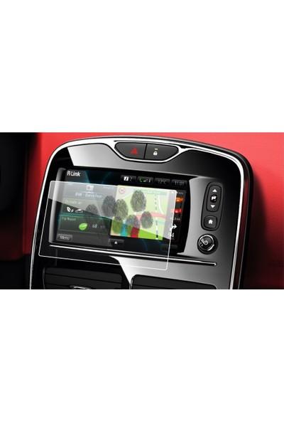 Aeltech Renault Clio Navigasyon Ekran Koruyucu Cam
