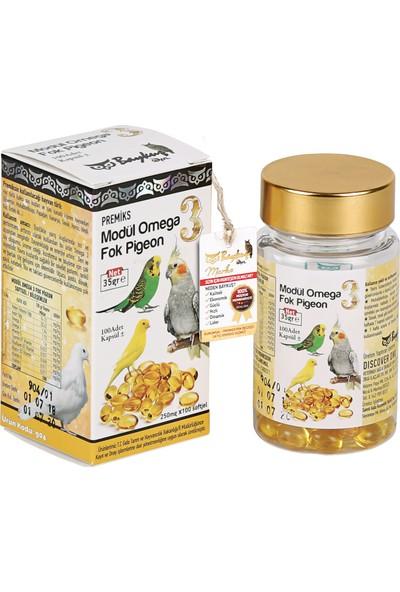 Baykuş Kanatlı Hayvanlar İçin Balık Yağı Kuş Vitamini