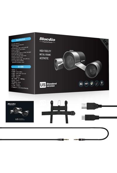 Bluedio Us 2.1 Kanallı Kablosuz Bluetooth Speaker Hoparlör Siyah