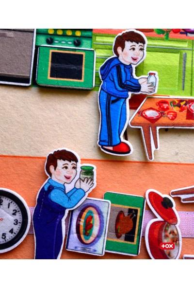 Tox ( Mutfak ) Keçe Cırtlı Aktivite Sayfası