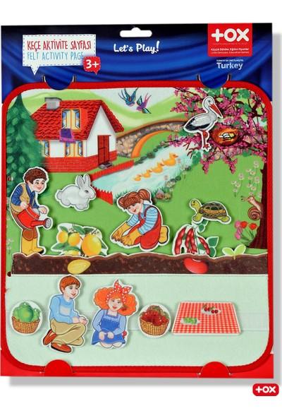 Tox ( Ilkbahar ) Keçe Cırtlı Aktivite Sayfası
