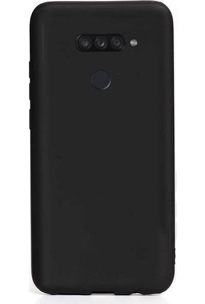 Coverzone LG K40S Kılıf Silikon Kılıf Siyah