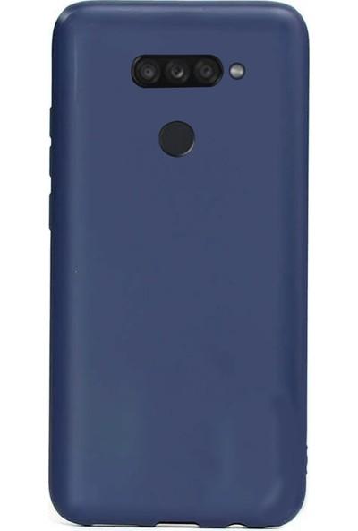 Coverzone LG K40S Kılıf Silikon Kılıf Lacivert