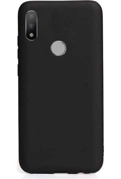 Coverzone Motorola One Macro Kılıf Silikon Kılıf Siyah