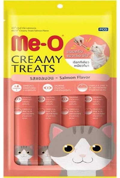Me-O Creamy Treats Somonlu Yaş Kedi Ödül Maması 15 gr x 4