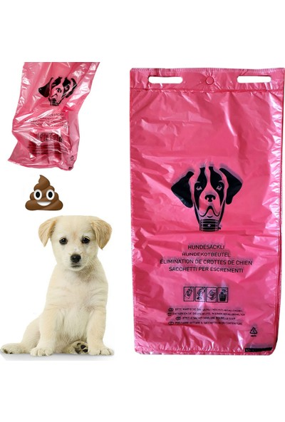 Hoşgör Plastik Köpek Tuvalet Torbası 50 Adet