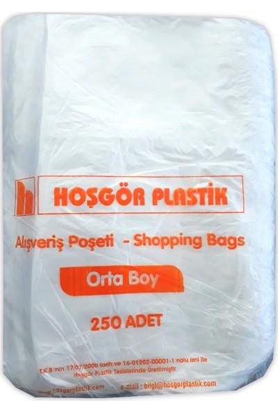Hoşgör Plastik Hışır Atlet Market Manav Poşeti Orta Boy 2000'li