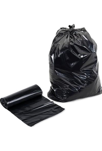 Hoşgör Plastik Jumbo Rulo Çöp Poşeti Torbası Rulo 400 gr 20 Rulo 80x110 cm