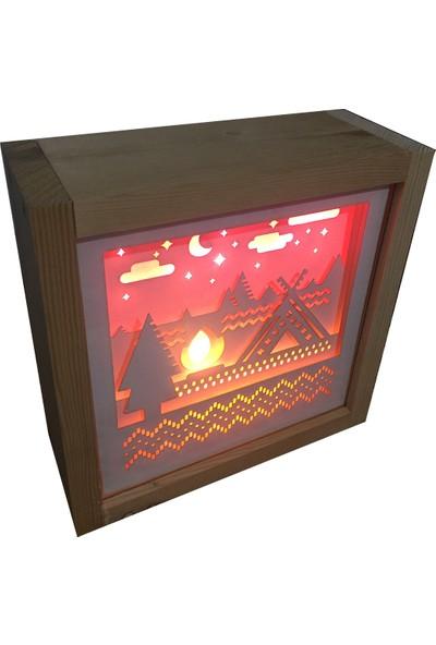 Sinlaf Dekoratif 3D Gece Lambası
