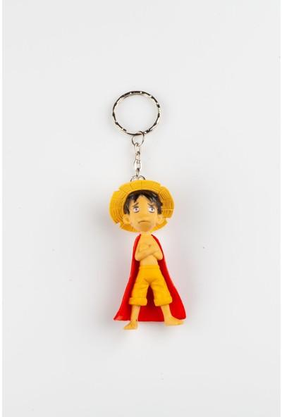 Daiso One Piece Monkey D. Luffy Anahtarlık No.2