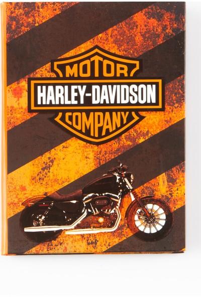 Dünyadan Hediyeler Harley Davidson Lak Trend Defter