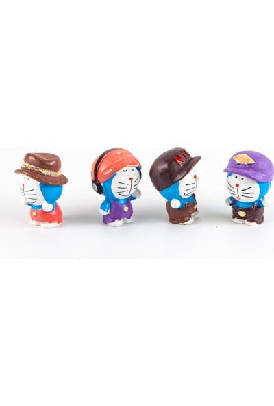 National Japan Japon Anime Doraemon Figür Dörtlü