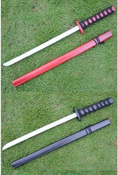 Dünyadan Hediyeler Ahşap Japon Samuray Katana Kılıcı Siyah