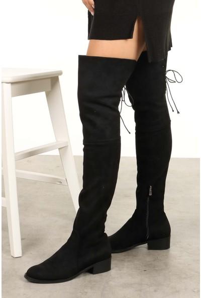 Mio Gusto Lara Siyah Streç Çizme