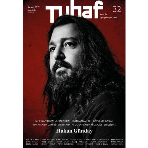 Tuaf Dergi Sayı:32 Kasım 2019