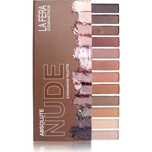La Fera Cosmetics Absolute Nude Eyeshadow Palette / Far Paleti