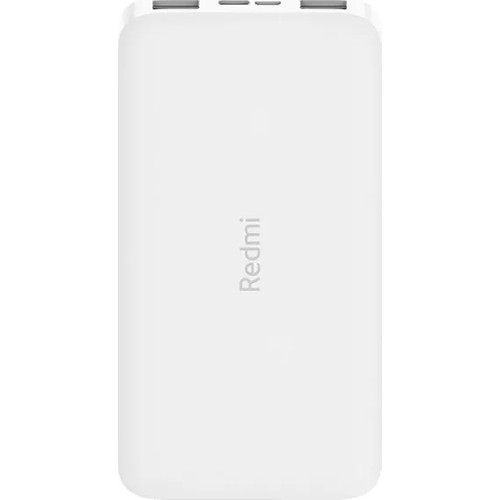 Xiaomi Redmi 10000 Mah Taşınabilir Hızlı Şarj Cihazı - 12W 2 Çıkışlı Powerbank - Beyaz