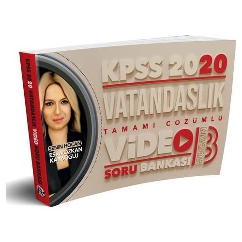 Benim Hocam Yayınları 2020 Kpss Vatandaşlık Tamamı Çözümlü Video Soru Bankası - Esra Özkan Karaoğlu