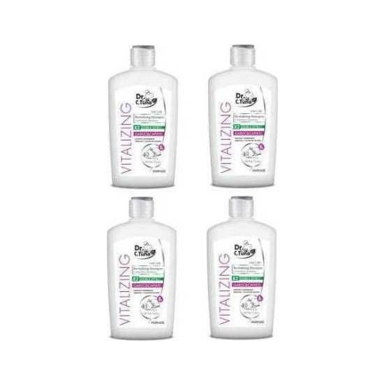 Farmasi Dr. C. Tuna Vitalizing Sarımsaklı Canlandırıcı Şampuan 500 ml x 4