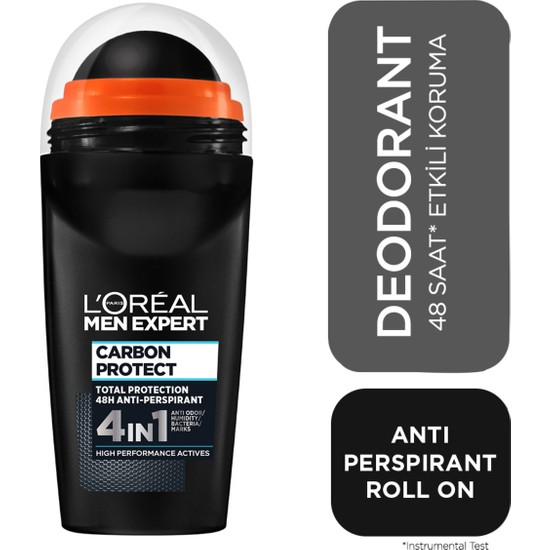 L'Oréal Paris Men Expert Carbon Protect Antı Perspırant Roll On 50ml