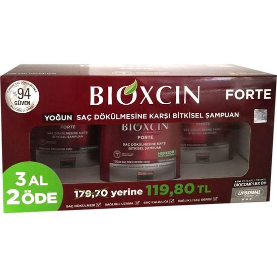 Bioxcin Forte Şampuan 3 Adet