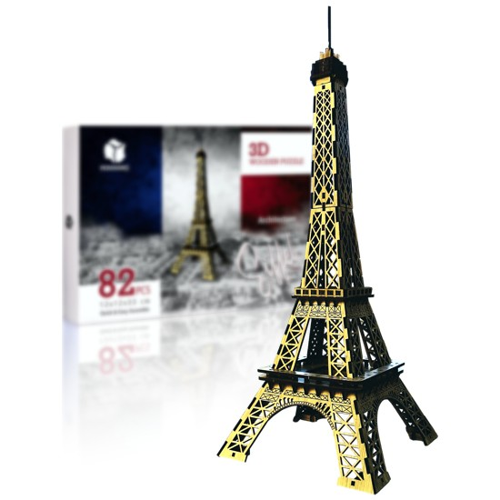 Pershang Eyfel Kulesi 82 Parça 3D Ahşap Puzzle