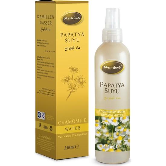Mecitefendi Papatya Suyu 250 ml (Saç - Cilt - Gıda)