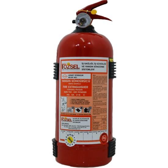 Özsel Yangın Söndürme Tüpü 2 kg