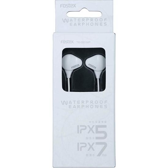 Fostex TE-02WP (B) Su Geçirmez Kulak İçi Kulaklıklar Beyaz