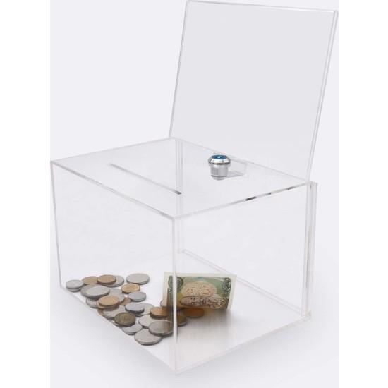Didideko Pleksi Föylüklü Yardımlaşma Kutusu 15 x 27 x 13 cm