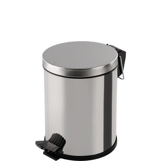 Baymera 5 lt Pedallı Çöp Kovası