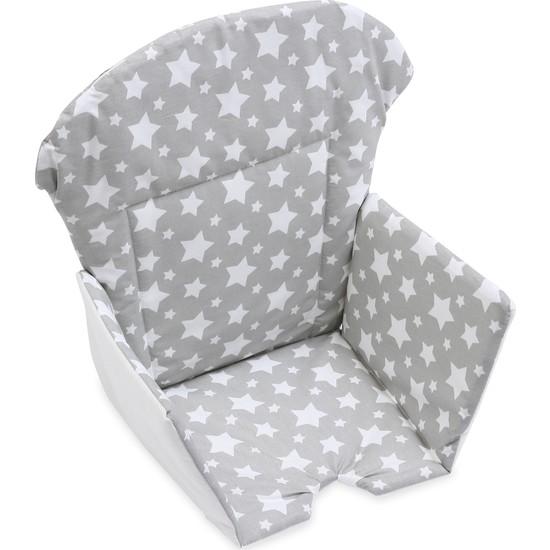 Ships Baby Mama Sandalyesi Minderi Gri Yıldız