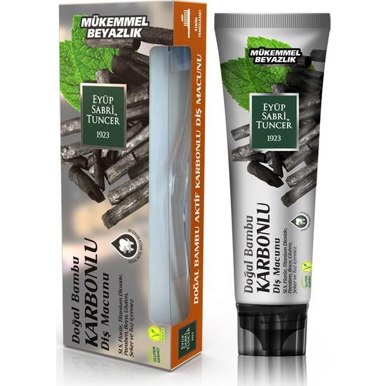Eyüp Sabri Tuncer Doğal Aktif Bambu Karbonlu Diş Macunu 75 ml (F)