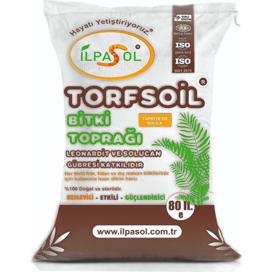 Ilpasol Torfsoil Saksı ve Çiçek Toprağı 80 lt