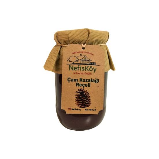 Nefisköy Doğal Katkısız Çam Kozalağı Reçeli 400 gr