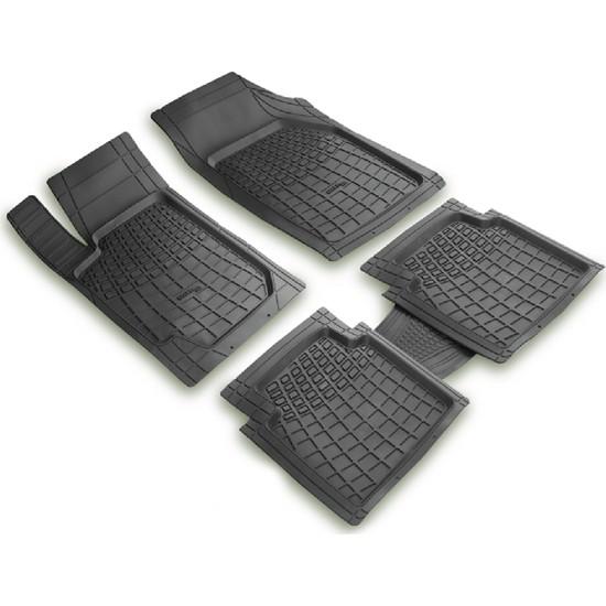 arabaMaraba Infınıtı Q45 2001 Sonrası 3D Havuzlu Oto Paspas Seti Siyah