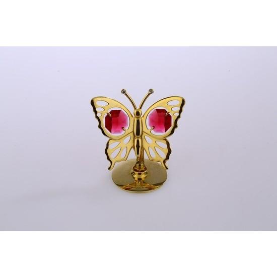 MCA Kırmızı Taşlı Kelebek