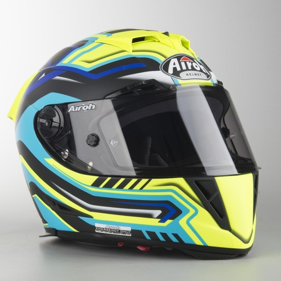 Airoh GP500 Rival Matt Full Face Motosiklet Kaski